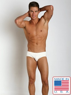 Pistol Pete Iconic Swim Brief Ivory