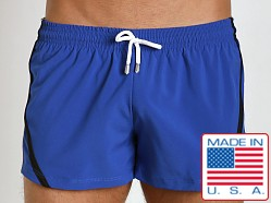 Pistol Pete Riptide Swim Short w/Liner Royal