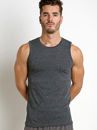 St33le Performance Heathered Muscle Tank Charcoal