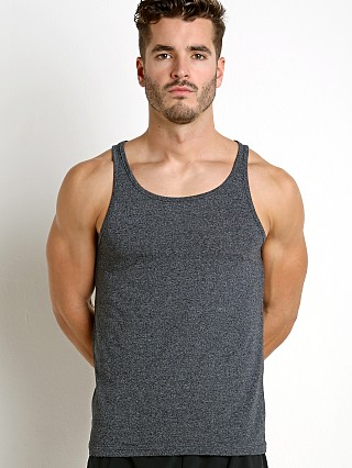 Complete the look: St33le Performance Heathered Workout Tank Charcoal