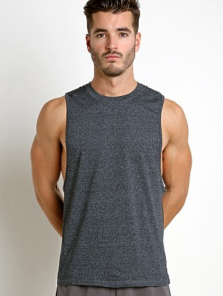 Complete the look: St33le Performance Heathered Low Armhole Muscle Tank Charcoal