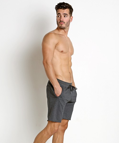 St33le French Terry Shorts Charcoal