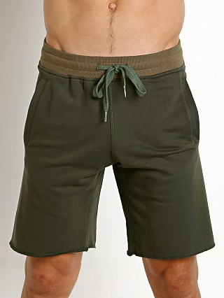 St33le French Terry Shorts Army