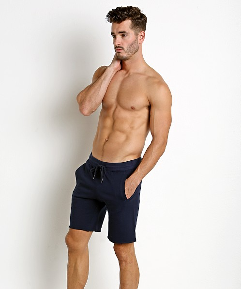St33le French Terry Shorts Navy