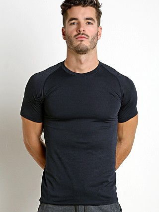 St33le Seamless Performance Short Sleeve Crew Navy