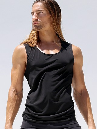 Rufskin Why Relaxed Fit Yogatek Tank Top Black