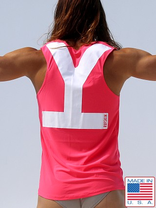 Rufskin Why Relaxed Fit Yogatek Tank Top Pink