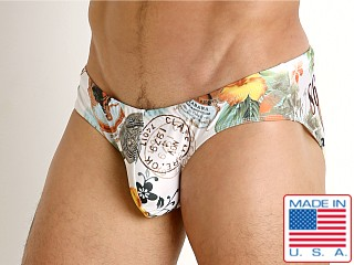 Model in havana Rick Majors Low Rise Swim Brief