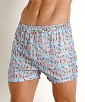 LASC Parachute Poly Swim Boxer Beach People, view 3