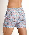LASC Parachute Poly Swim Boxer Beach People, view 4