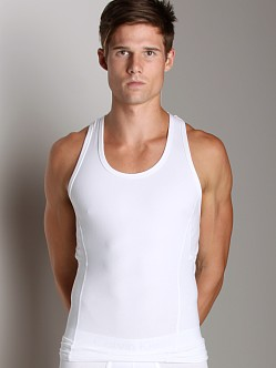 Calvin Klein Core Sculpt Compression Tank Top White
