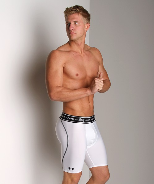 Under Armour Ventilated Compression Short White