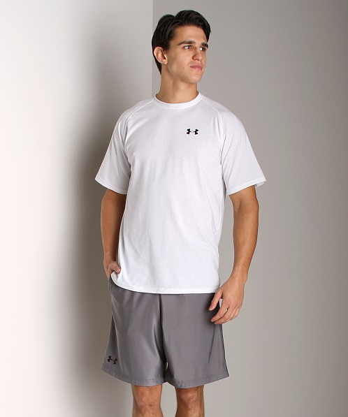 Under Armour UA Tech Shortsleeve T White