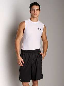 Under Armour HeatGear Sleeveless T White