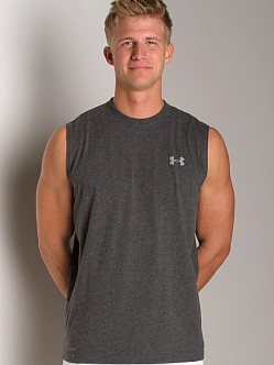 Under Armour UA Charged Cotton Sleeveless T Carbon Heather