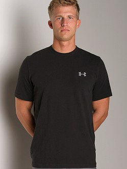 Under Armour UA Charged Cotton T Black