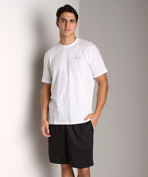 Under Armour UA Charged Cotton T White