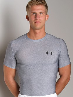 Under Armour HeatGear Full T Medium Grey Heather
