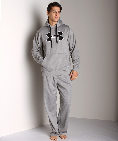 Under Armour Fleece Big Logo Hoody True Grey Heather