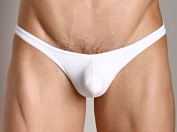 CockSox Support Pouch Sports Thong Quartz White