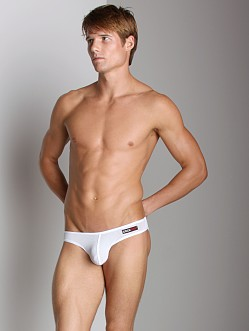 CockSox Enhancer Pouch Mesh Brief White