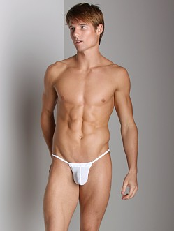 CockSox Enhancer Pouch Mesh Slingshot White