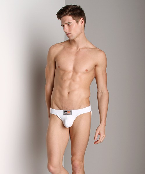 CockSox CX Active Cotton Jockstrap Quartz White