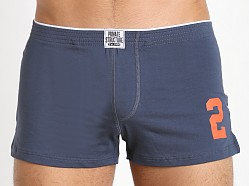 Private Structure Inner Bulge Lucky Boxer Dress Blue
