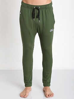 Private Structure Bodywear Terry Carrot Pants Army Green