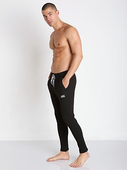 Private Structure Bodywear Terry Carrot Pants Black