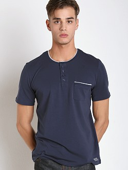 Hugo Boss Emotion Nightwear Shirt Navy