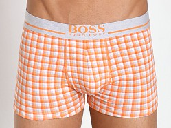 Hugo Boss 24 Print Boxer Orange