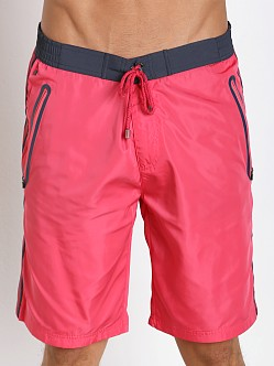 Hugo Boss Alligatorfish Swim Shorts Magenta