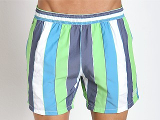Hugo Boss Salmon Swim Shorts Teal