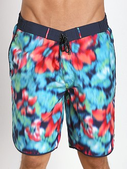 Hugo Boss Tiger Shark Swim Shorts Magenta