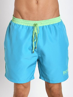 Hugo Boss Starfish Swim Shorts Turquoise
