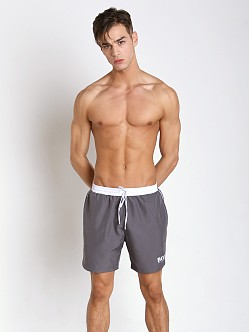 Hugo Boss Starfish Swim Shorts Dark Grey