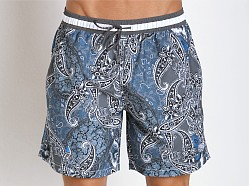 Hugo Boss Boxfish Swim Shorts Dark Grey
