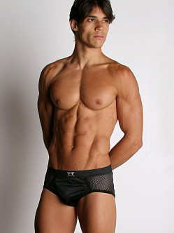 LA Sporting Club Athletic Mesh Brief Black