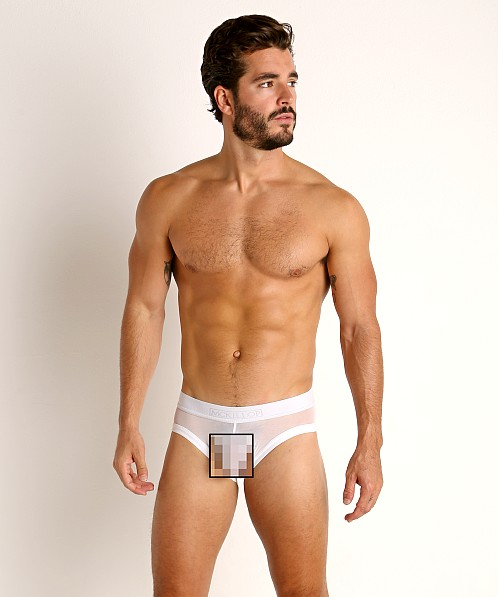 McKillop Max Bulge Ultra Stretch Mesh Brief White