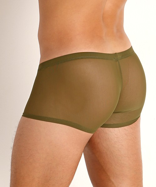 McKillop Hoist Ultra Stretch Mesh Low Boxer Army