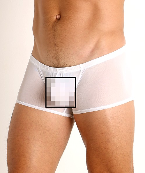 McKillop Hoist Ultra Stretch Mesh Low Boxer White