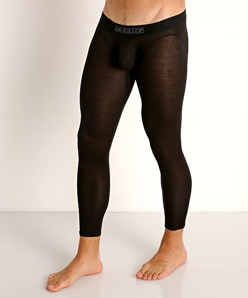 McKillop Max Bulge Modal Long Johns Black