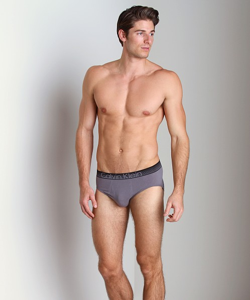 Calvin Klein Concept Cotton Hip Brief Eel Grey