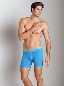 Calvin Klein Steel Micro Boxer Brief Blue Heron