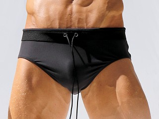 Rufskin Bradford Supreme Touch Drawstring Brief Black