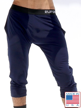 Rufskin Zen Stretch Jersey 3/4 Yoga Pants Navy