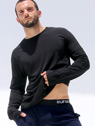Complete the look: Rufskin Bhakti Stretch Jersey Long Sleeve Shirt Black