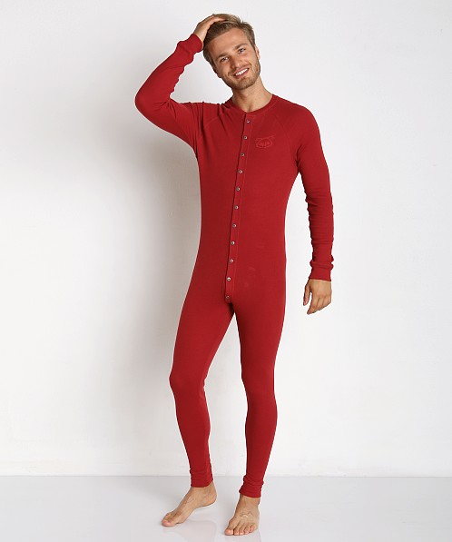 Nasty Pig Union Suit Red
