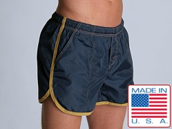 LASC Euro Trunk Navy/Gold